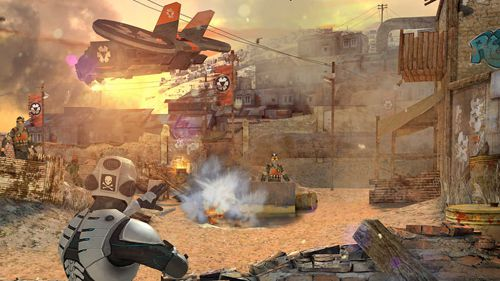 Screenshot Overkill 3 auf dem iPhone