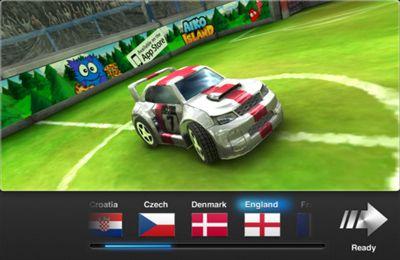 Мультиплеер игры: скачать Soccer Rally: Euro 2012 на телефон