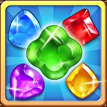 Gem crush. Crazy gem match fever Symbol