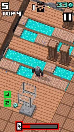 Crossy Road ähnelnden Spiele Crossy robot: Combine skins auf Deutsch