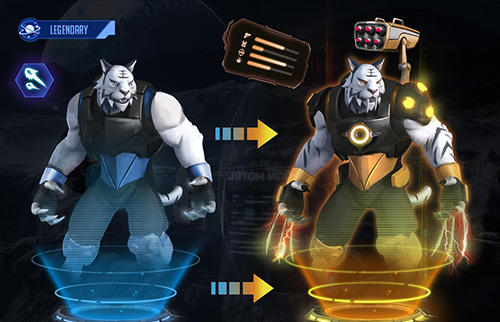 Onlinespiele Battle space: Strategic war für das Smartphone