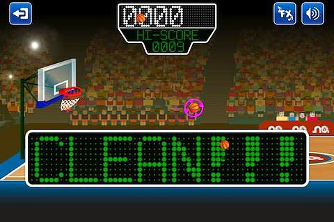 Screenshot Basketmania: All stars on iPhone
