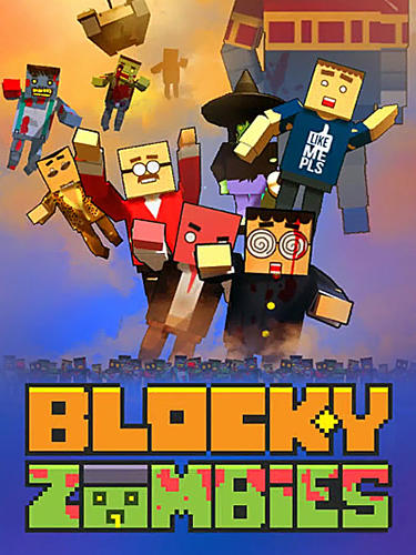 Blocky zombies icono