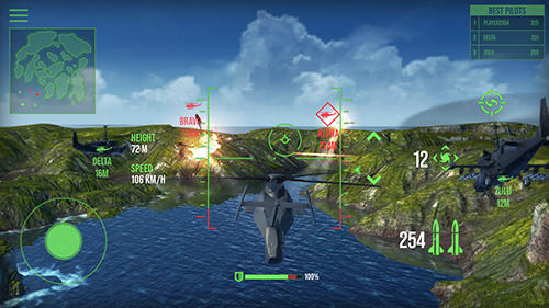 Modern war choppers pour Android