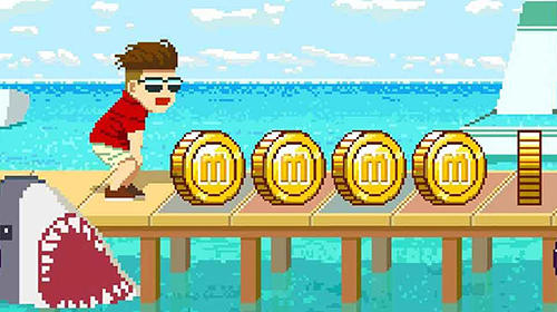 Maldives friends: Pixel flappy fighter pour Android