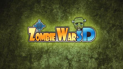 Zombie war 3D icon
