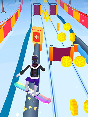 Snow racer: Mountain rush für Android