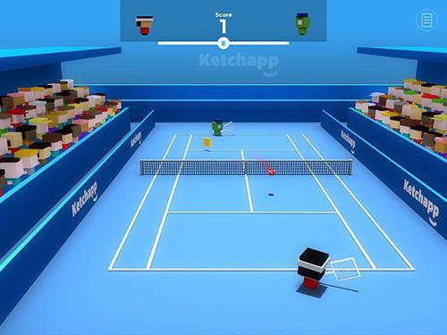 Pixel Ketchapp: Tennis auf Deutsch
