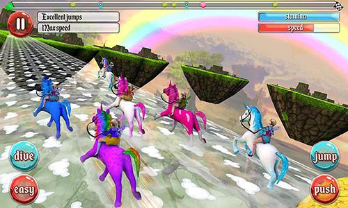 Arcade Ultimate unicorn dash 3D für das Smartphone