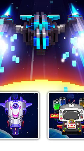 Arcade Space war: 2D pixel retro shooter for smartphone