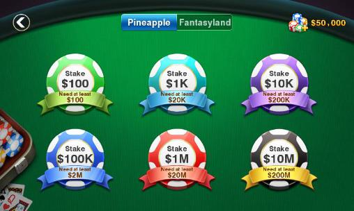 DH: Pineapple poker Screenshot