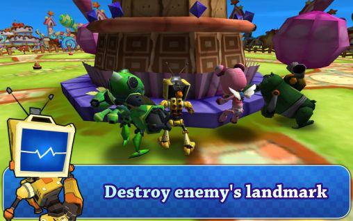 Actionspiele Robot battle 2 für das Smartphone