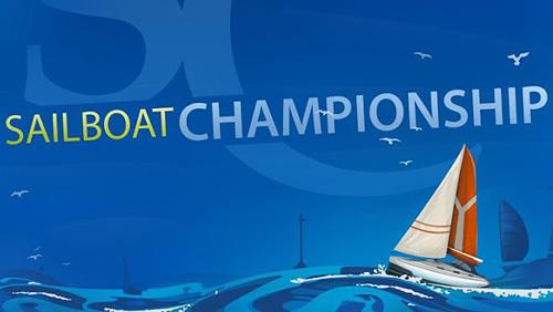 logo Segelboot Meisterschaft Pro
