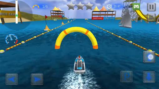 Extreme power boat racers für Android