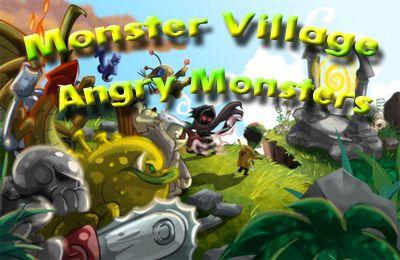 logo Monstersiedlung - Wütende Monster