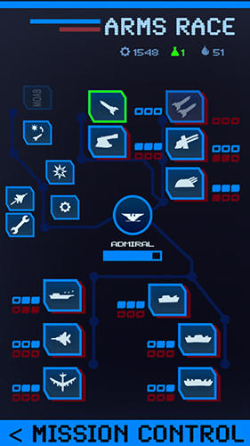 Strategiespiele Carrier commander: War at sea für das Smartphone