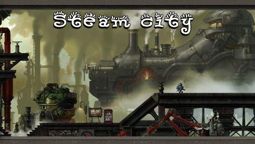 logo Le méchanisme à vapeur de la ville