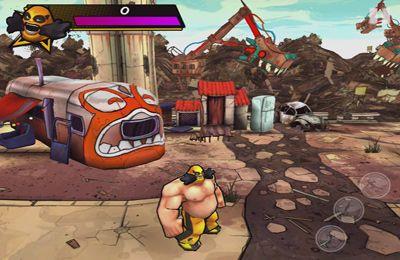 Screenshot Strassen-Wrestler auf dem iPhone