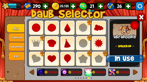 Glücksspiele Bingo Abradoodle für das Smartphone