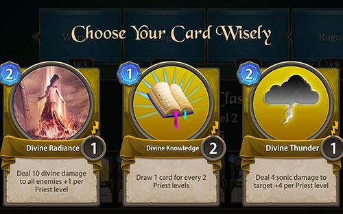 Onlinespiele Spellsword cards: Demontide für das Smartphone