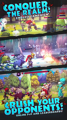 RPG-Spiele: Lade Helden der Zerstörung: Abwesende Abenteuer auf dein Handy herunter