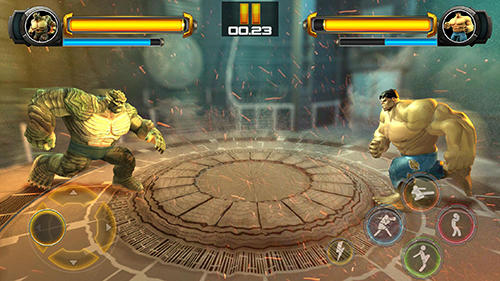 Superhero fighting games 3D: War of infinity gods auf Deutsch