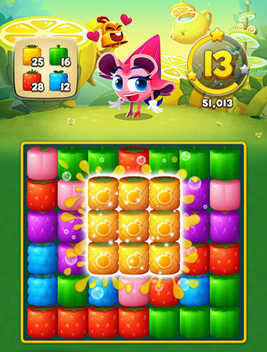 Juicy world für Android