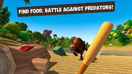Action Island survival simulator 3D für das Smartphone
