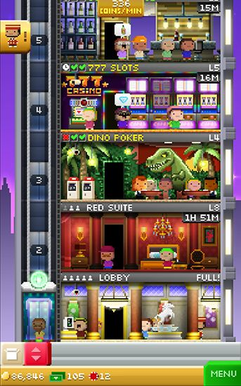 Tiny tower: Vegas auf Deutsch