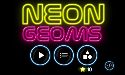 Neon Geoms screenshot 1