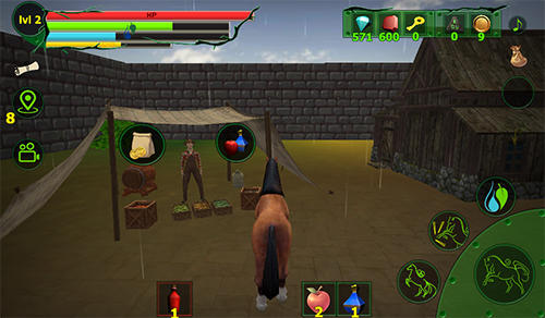 Horse simulator: Goat quest 3D. Animals simulator скриншот 1