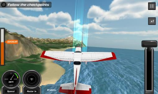 Flight pilot: Simulator 3D Screenshot