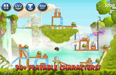 Komplett saubere Version Angry Birds: Star Wars 2 ohne Mods Shooter