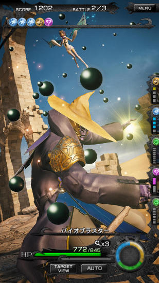 Mobius final fantasy pour Android