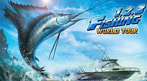 Fishing hero. 1, 2, 3 fishing: World tour captura de tela 1