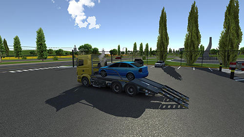 Android Simulation für VERTEX: Drive simulator 2