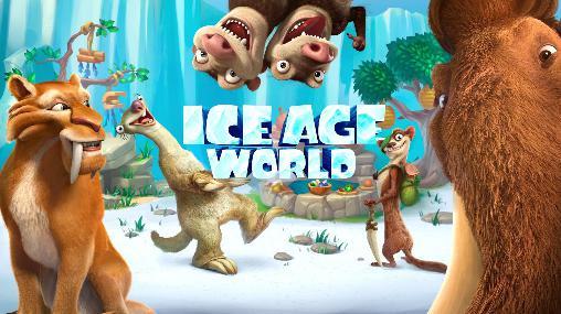 Ice age world icon