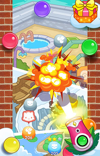 Meow pop: Kitty bubble puzzle Screenshot