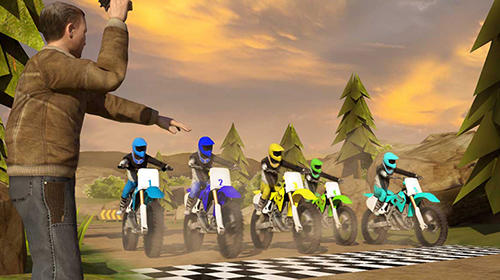 Trial xtreme dirt bike racing: Motocross madness screenshot 1