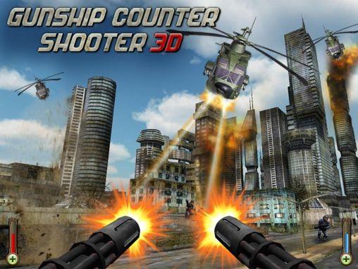 Gunship counter shooter 3D icono