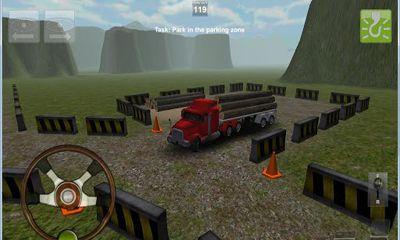 Truck Parking 3D Pro Deluxe screenshot 1