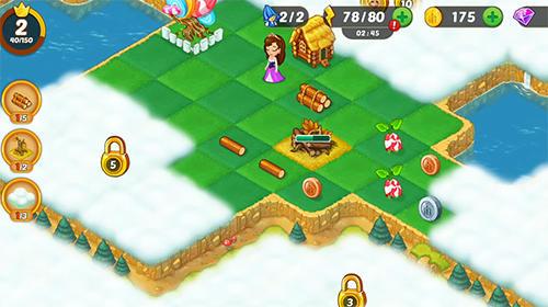 Logik Mergewood tales: Merge and match fairy tale puzzles für das Smartphone