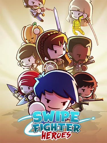 Swipe fighter heroes: Fun multiplayer fights Screenshot