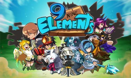9 elements: Action fight ball captura de tela 1