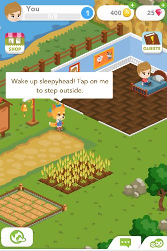 Strategy games: download Harvest crossing to your phone