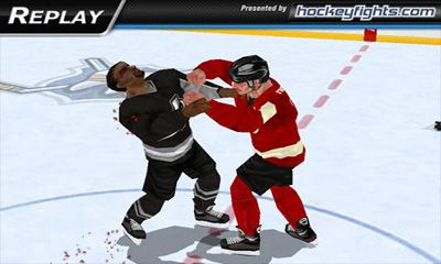 Hockey Hockey Fight Pro auf Deutsch