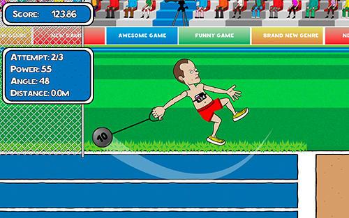 Capturas de tela de Cartoon sports: Summer games