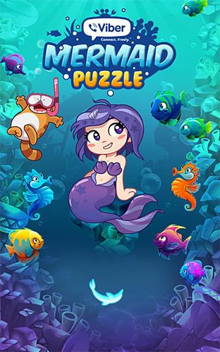 Viber mermaid puzzle match 3 Symbol