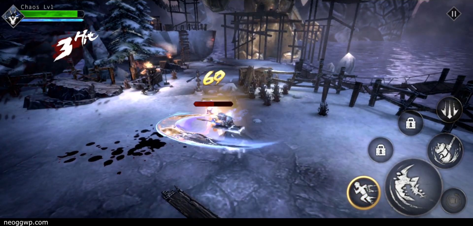 Blade of God : Vargr Souls pour Android