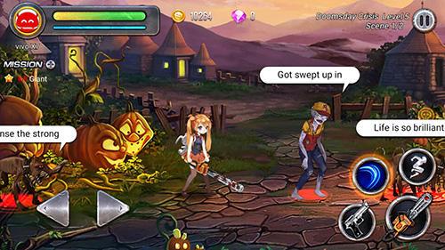 The girls: Zombie killer screenshot 1